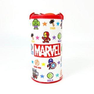 店内セール開催中!10%オフ対象商品Marvel ペットボトルカバー ピクセル マーベル ペットボトルホルダー 赤 グッズ