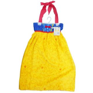 ディズニー 白雪姫 バスドレス ドレススノー バスタオル タオル サマー ディズニープリンセス 黄色 グッズ