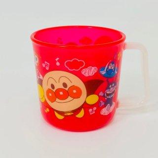 店内セール開催中!20%オフ対象商品!アンパンマン マグカップ レッド ランチ・こども食器シリーズ