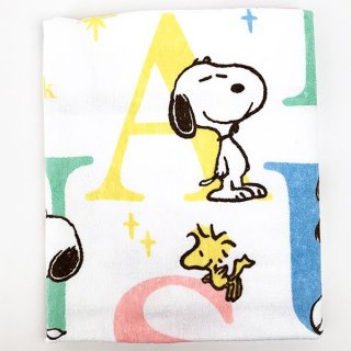 <img class='new_mark_img1' src='https://img.shop-pro.jp/img/new/icons15.gif' style='border:none;display:inline;margin:0px;padding:0px;width:auto;' />PEANUTS スヌーピー タオルケット SPアルファベット タオル ベビー 寝具  グッズ