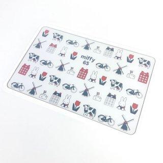 ミッフィー miffy カッティングボード ダッチモチーフ 65th ミッフィー まな板 ボード キッチンボード  白 グッズ (MCOR)