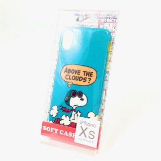 <img class='new_mark_img1' src='https://img.shop-pro.jp/img/new/icons15.gif' style='border:none;display:inline;margin:0px;padding:0px;width:auto;' />SNOOPY スヌーピー フライングエース IPXS/X ソフトケース グッズ (MCD)