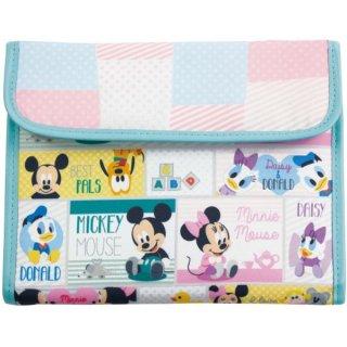 <img class='new_mark_img1' src='https://img.shop-pro.jp/img/new/icons15.gif' style='border:none;display:inline;margin:0px;padding:0px;width:auto;' />ディズニー ミッキー マルチケース ジャバラ ベビー 母子手帳ケース 出産祝い 通帳 Disney ミニー ドナルド デイジー