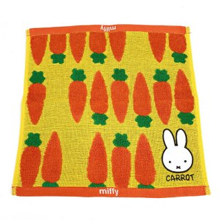 <img class='new_mark_img1' src='https://img.shop-pro.jp/img/new/icons15.gif' style='border:none;display:inline;margin:0px;padding:0px;width:auto;' />miffy ミッフィー  ミッフィー ミッフィーアンドキャロット キャリータオル タオル 人参 carrot グッズ オレンジ ベトナム