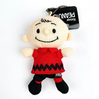 <img class='new_mark_img1' src='https://img.shop-pro.jp/img/new/icons15.gif' style='border:none;display:inline;margin:0px;padding:0px;width:auto;' />PEANUTS チャーリーブラウン ニットマスコット チャーリーブラウン 50's マスコット ストラップ