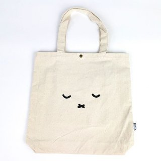 <img class='new_mark_img1' src='https://img.shop-pro.jp/img/new/icons15.gif' style='border:none;display:inline;margin:0px;padding:0px;width:auto;' />miffy ミッフィー トートバッグ フェイスオヤスミ バッグ トート グッズ