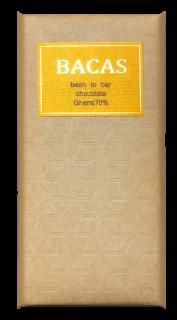 ガーナ70% ビーントゥーバーチョコレート/板チョコ 50g