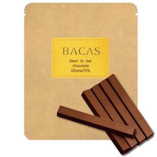 ガーナ70%/スティックタイプ 5本 ビーントゥーバーチョコレート