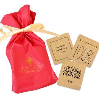 究極の手詰めドリップバッグコーヒーギフト【5袋】/リボン包装【赤】 母の日・クリスマスに最適