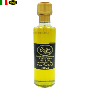 coccia「コッチャ」White Truffle flavored Extra virgin Olive Oil 100ml