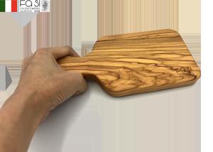 オリーブウッド カッティングボード 自然素材(小サイズ)manico dritto piccolo-23×11�