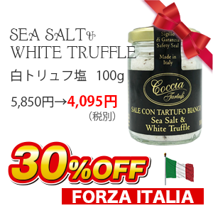 イタリア産 白トリュフ塩 100g