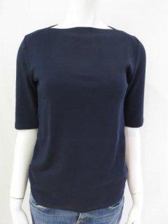 デジタルボートネック5分袖Tシャツ