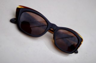 【toast】EYE GEAR ASHLYN【AMBER x BROWN】