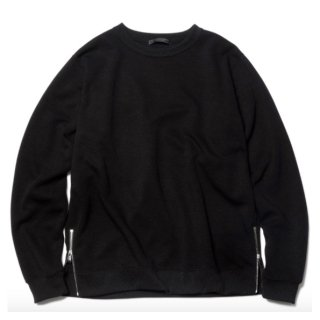 【sophnet.】HEM ZIP CREW NECK TOP