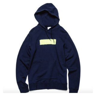 【uniform experiment】APPLIQUE BOX LOGO PULL OVER HOODY
