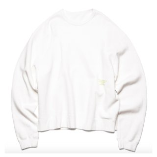 【uniform experiment】BIG CREW NECK SWEAT
