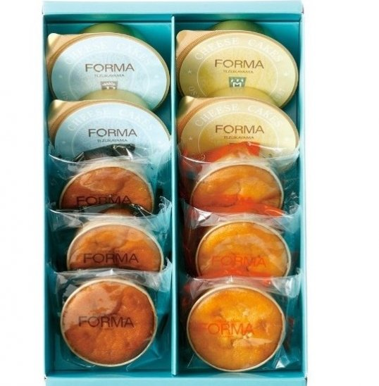 帝塚山チーズ菓子詰合せ 10個入