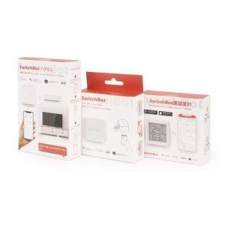 SwitchBot  + SwitchBotハブミニ(Hub Mini)+ SwitchBot温湿度計(Meter)セット