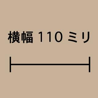 W110ミリ
