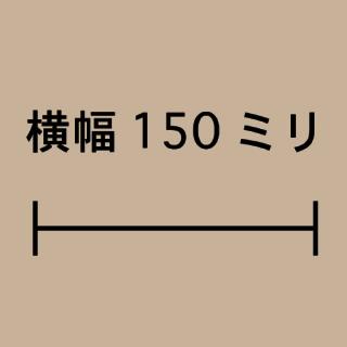 W150ミリ