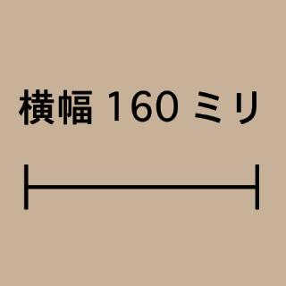 W160ミリ