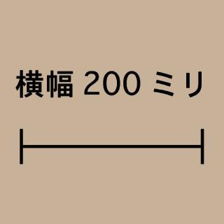 W200ミリ