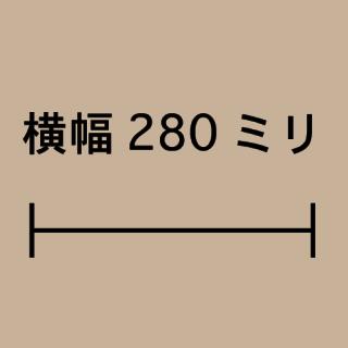 W280ミリ