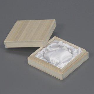 念珠箱 正方形ホm 白ツメ無 W82D82H25