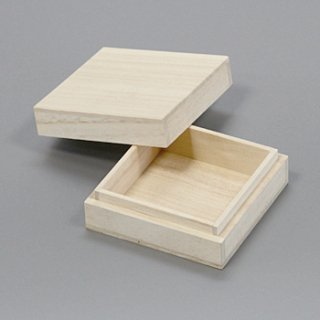 桐箱 正方形ホm W82D82H25