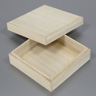 桐箱 正方形ホk W142D142H53