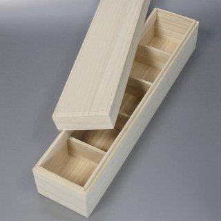 桐箱 長方形ホkH W432D82H100 仕切り箱