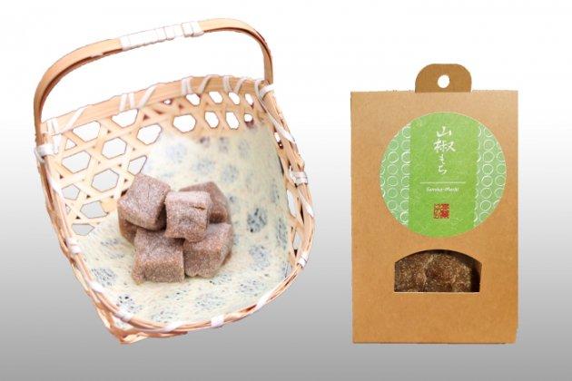【佐川町産・山椒もち】1袋90g/保存料・着色料・香料無添加/国産原料100%/伝統の和菓子/山椒餅