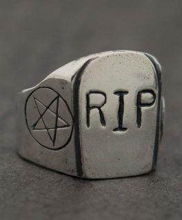[chilDDevil / チャイルドデビル] period 墓石 シルバーリング