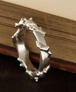 [Sons of TC / サンズ オブ ティーシー] Rg-10 Thorn ring イバラ シルバーピンキーリング