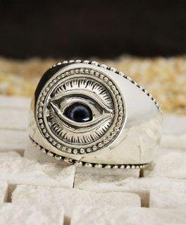 [good vibrations / グッドバイブレーション] GVRG-137 プロビデンスの目 義眼 グラスアイ シルバーリング