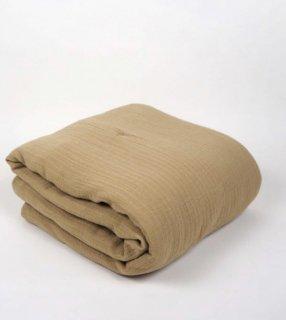 Straw Muslin Filled Blanket