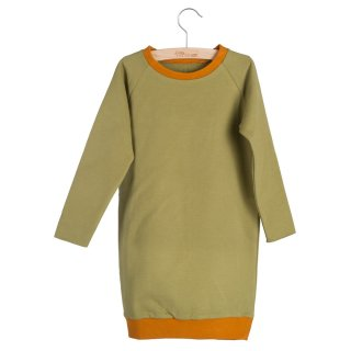 SWEATDRESS RUTH (Olive Drab/Pumpkin Spice)50%off