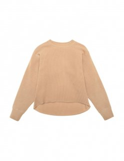 WAFFLE SWEATER (CAMEL) 60%off