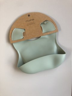 Silicone Baby Bib (Cambridge Blue)