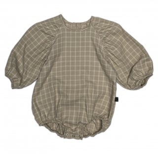 <img class='new_mark_img1' src='https://img.shop-pro.jp/img/new/icons15.gif' style='border:none;display:inline;margin:0px;padding:0px;width:auto;' />(20AW ) Neutral Checked Puff Onesie