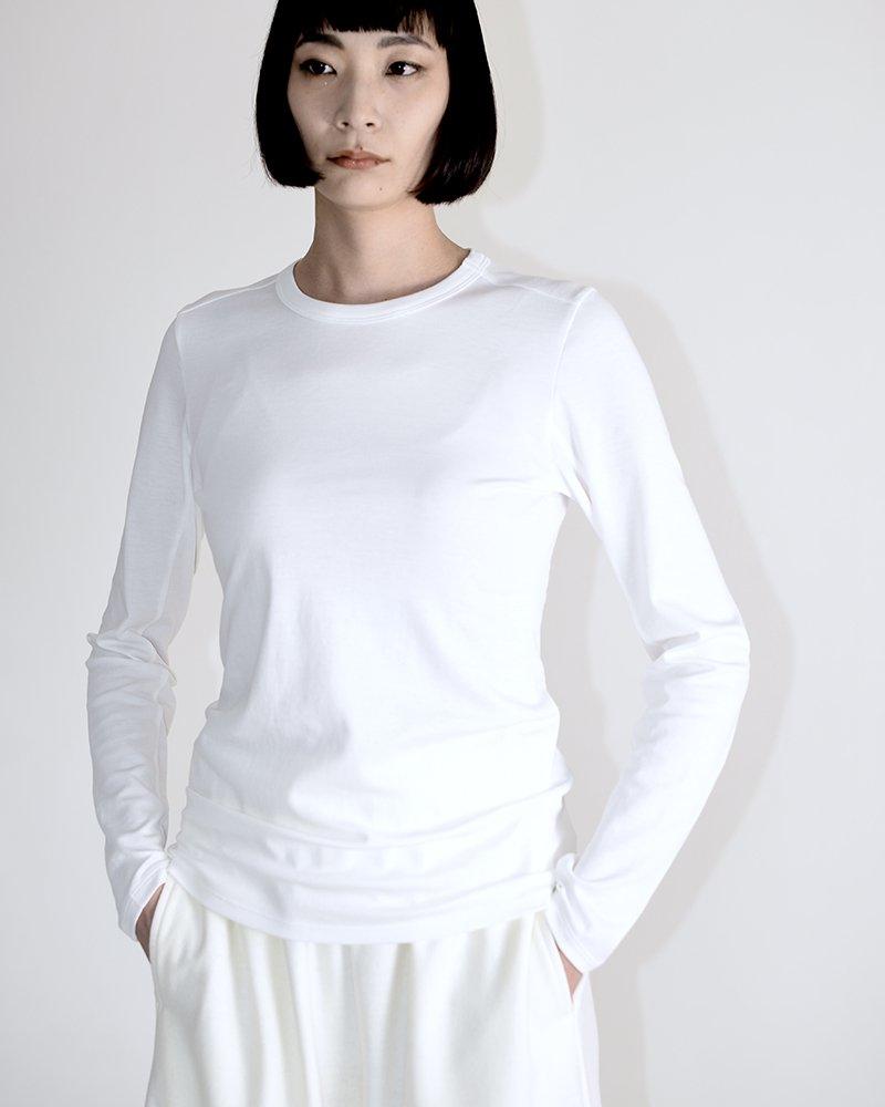 intoca.長袖クルーネックTシャツ