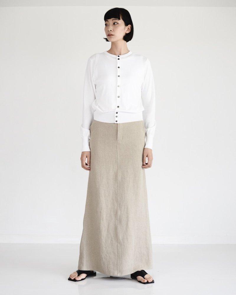 OXFORD ロングタイトスカート
