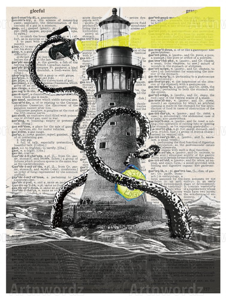 Lighthouse Kraken