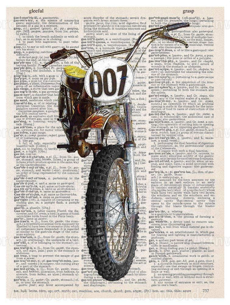 Dirt Bike Front