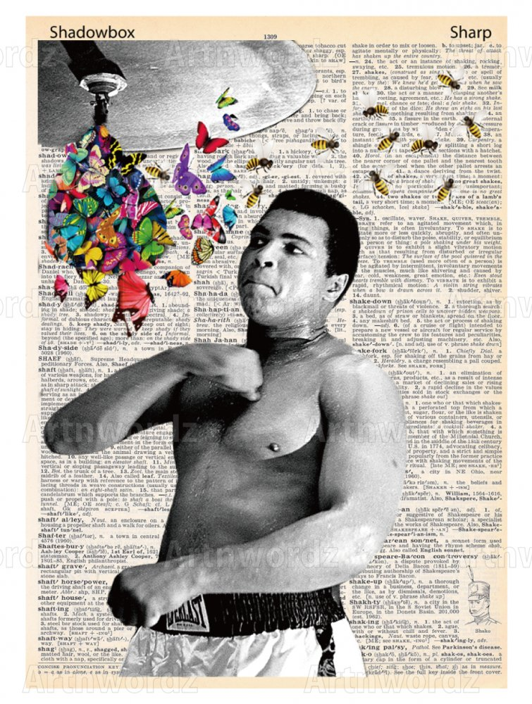 Float Like a Butterfly ...