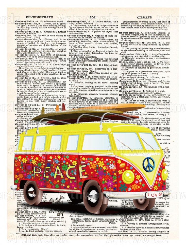 VW surf Van