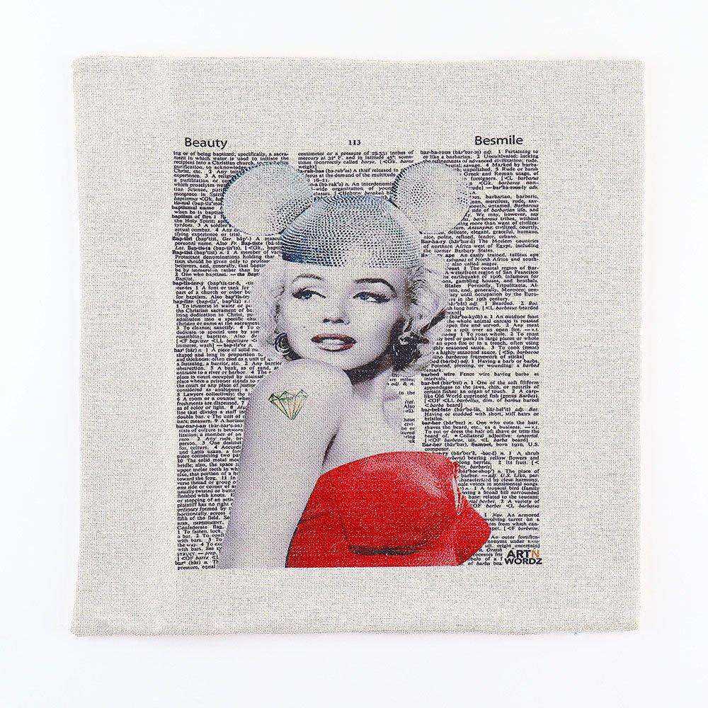 ピローカバー(Marilyn Forever)