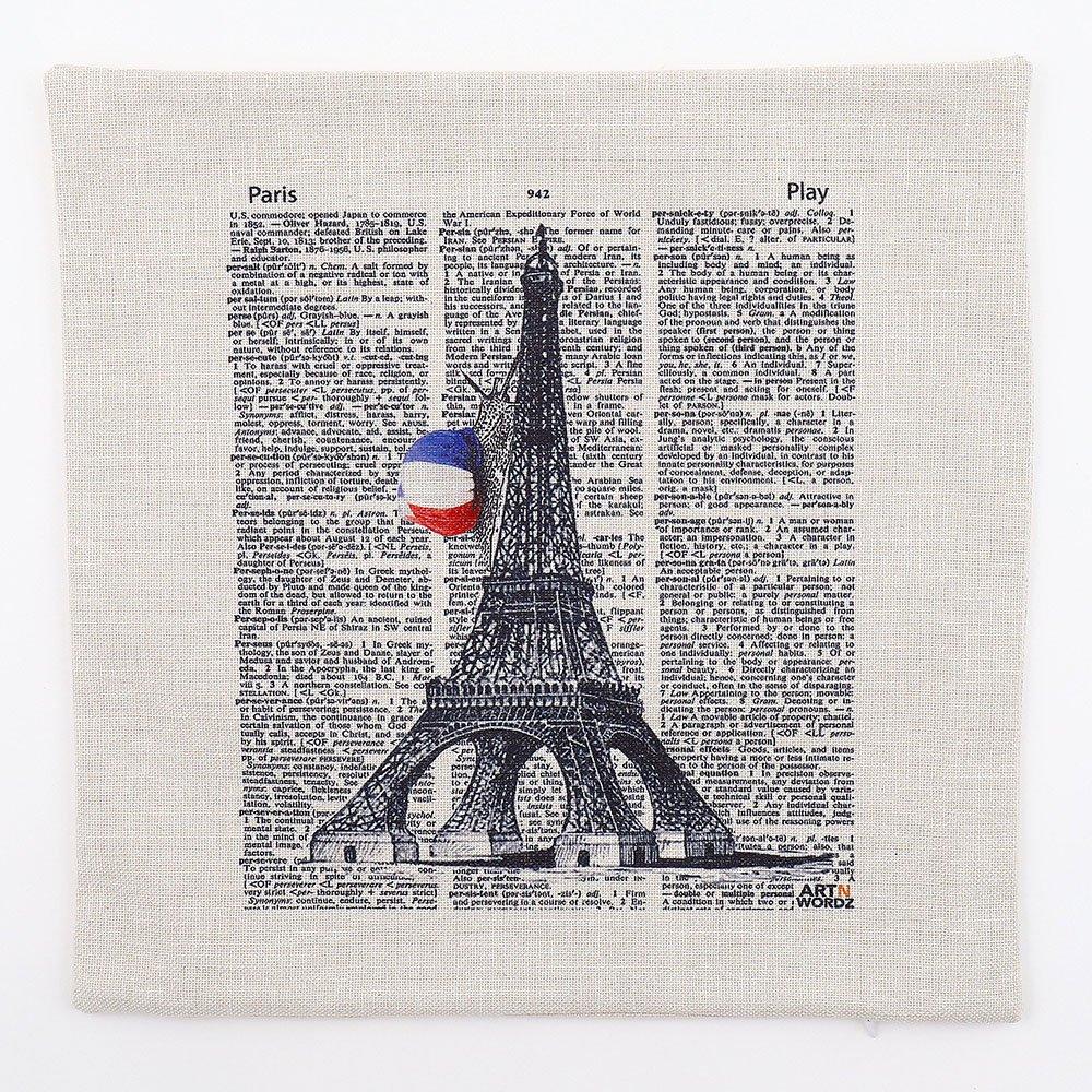 ピローカバー(Eiffel Snail Paper)
