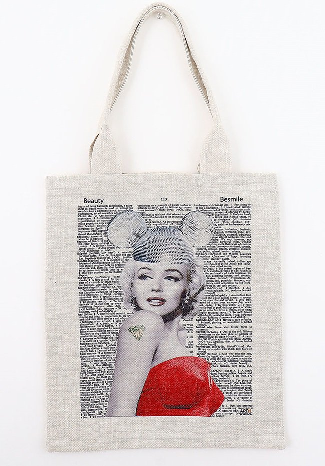 トートバックL(Marilyn Forever)